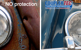 CouplerTec electronic rustproofing technology