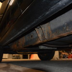 rust on undercarriage