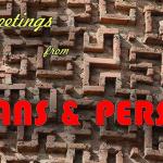 Persia Stans postcard